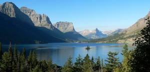 Park Narodowy Glacier - Jezioro St. Mary