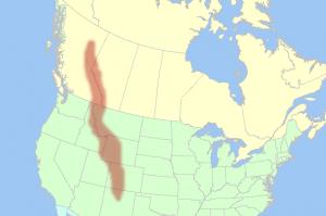 Góry Skaliste - mapa