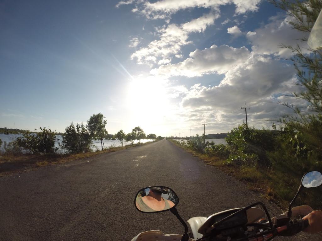 Motocyklem po Kambodży - widoki
