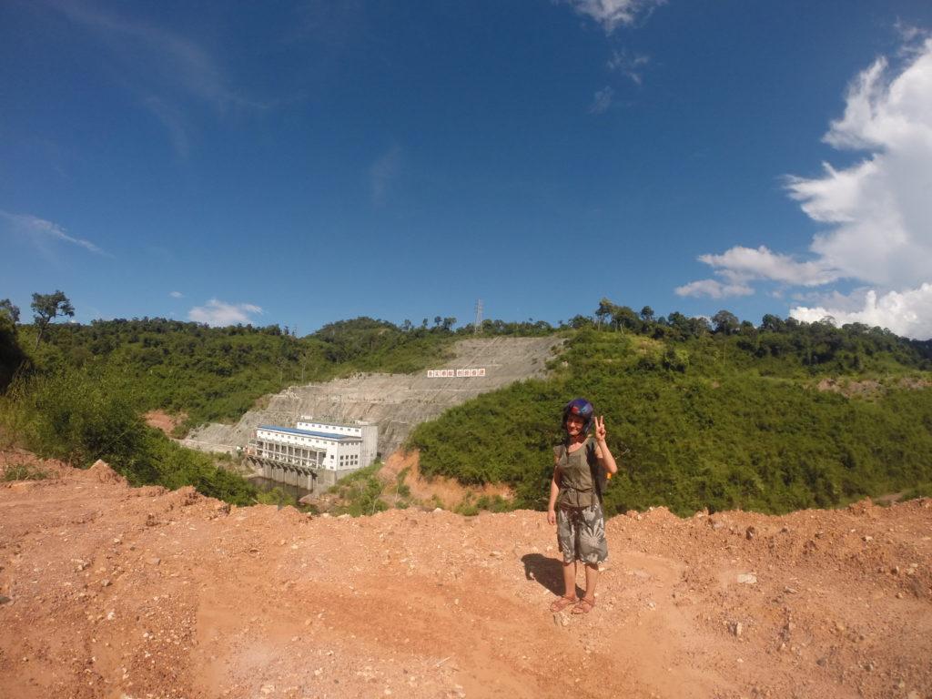 Wyjazd do Kambodży - elektrownie