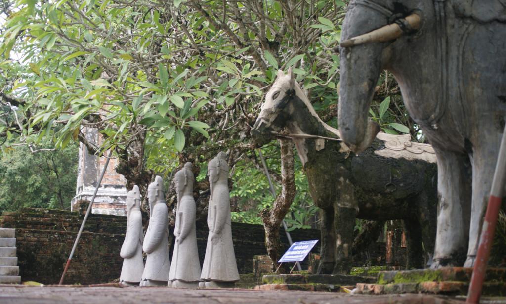 Grobowiec Cesarza Tu Duc'a (1847-1883) w Hue