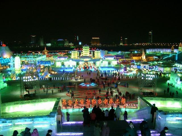 Harbin festiwal śniegu i lodu
