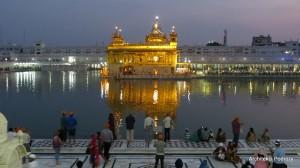 Indie - Amritsar - Złota Świątynia Sikhów