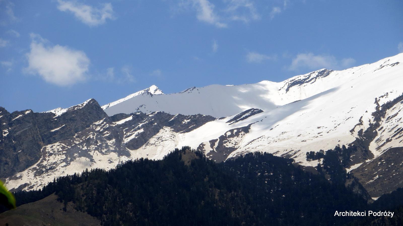 Indie, Manali - góry