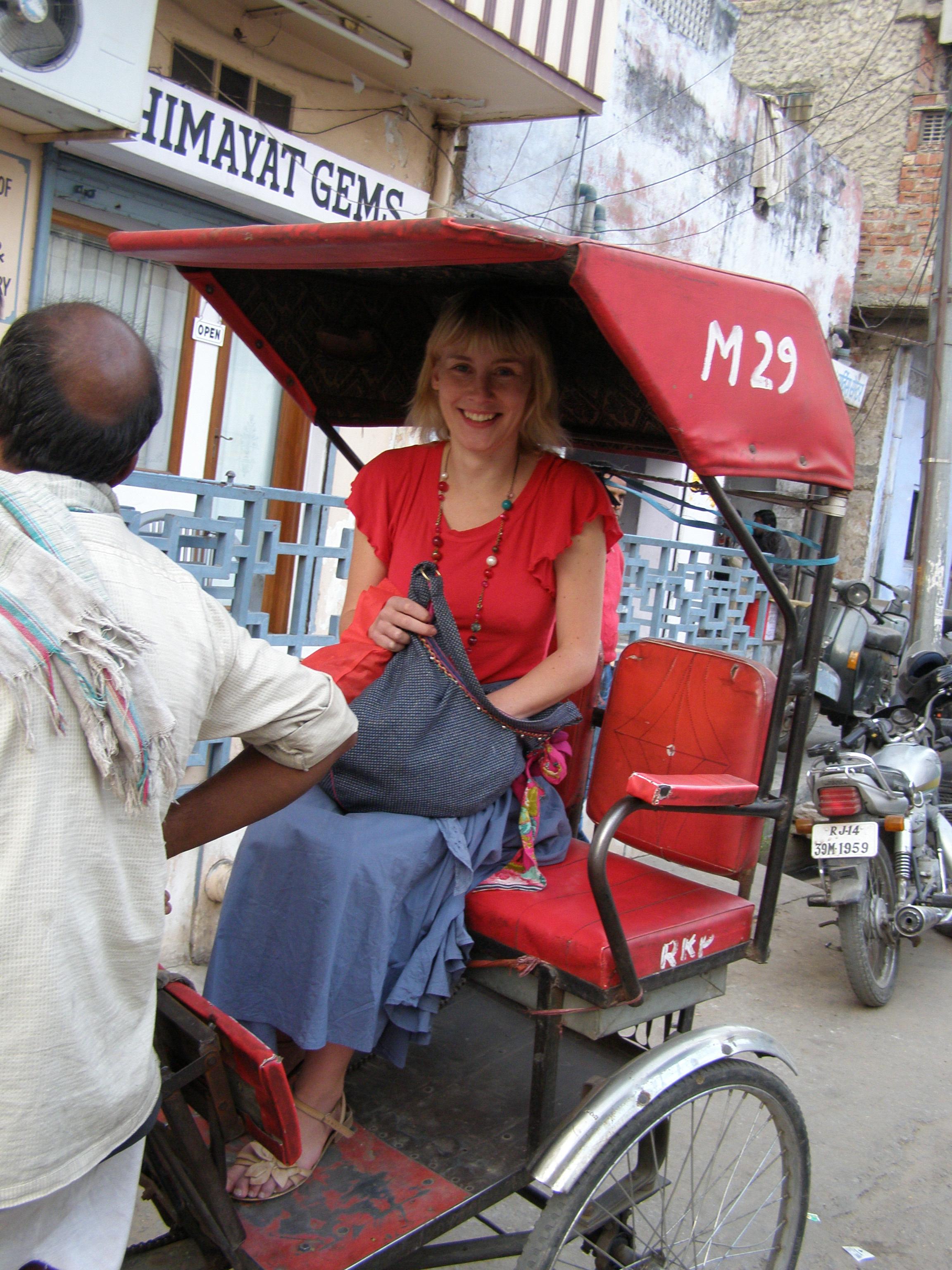 Ryksza w Jaipurze