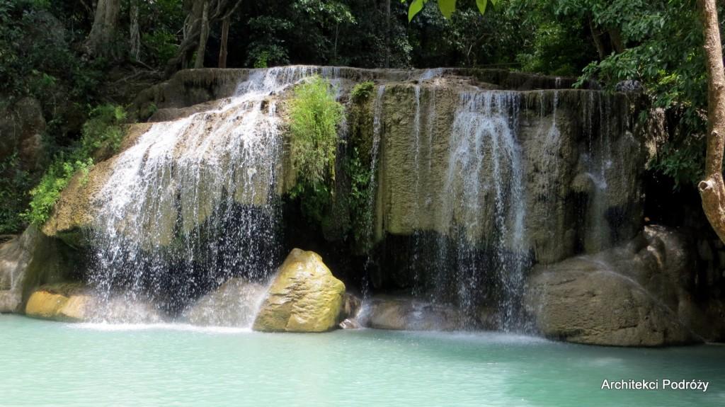 Kanchanaburi - Wodospad Erawan