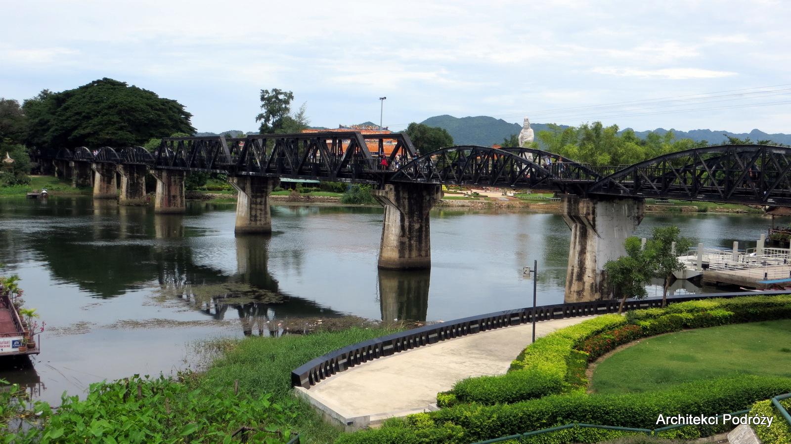 Kanchanaburi - Most na rzece Kwai