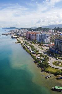 Malezja, Borneo, miasto Kota Kinabalu