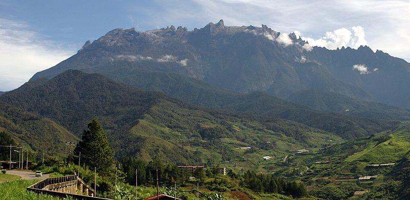 Malezja - góra Kinabalu