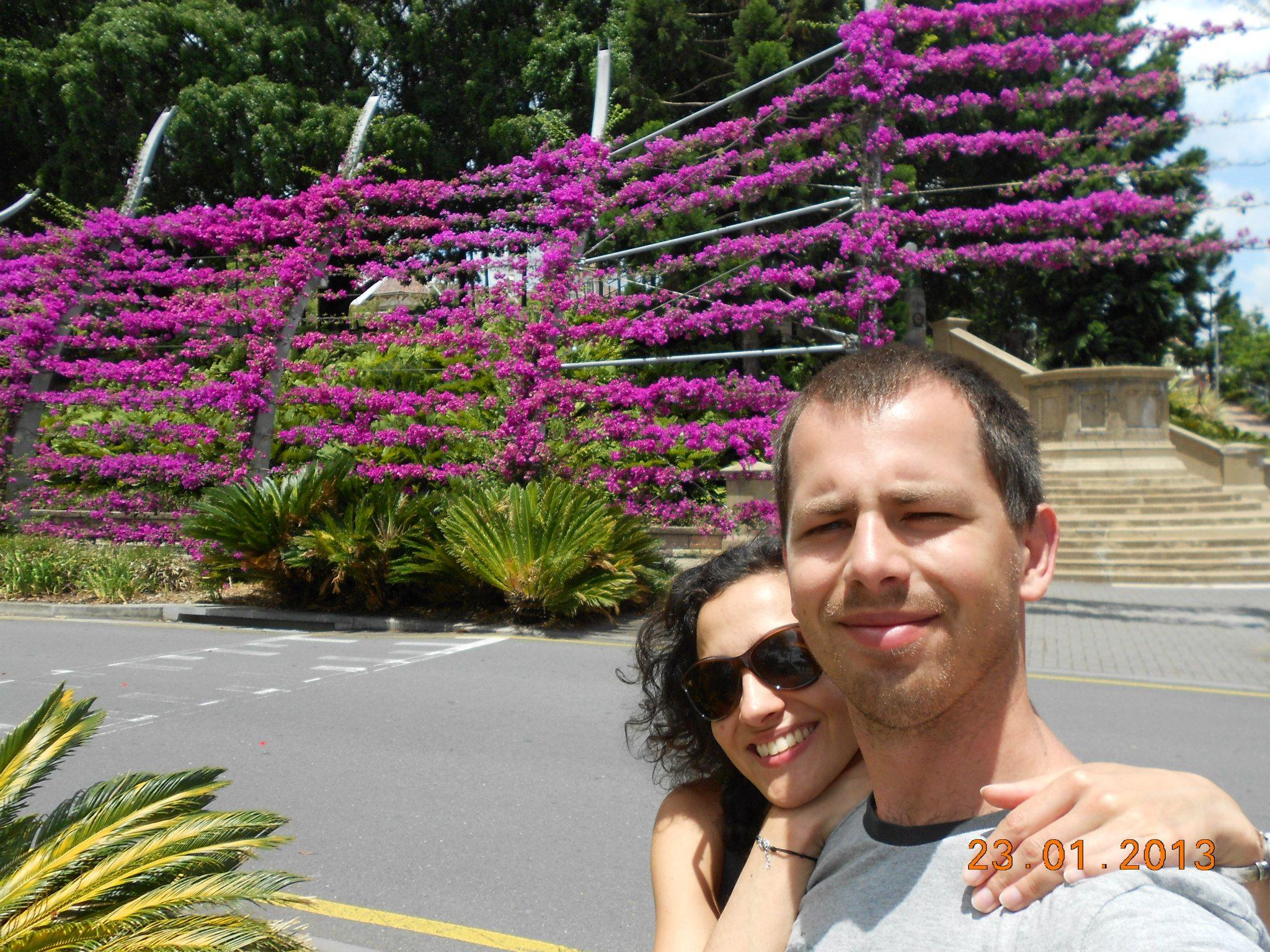 Ola i Adam w Australii