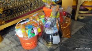 Tajlandia - buddyzm - ofiary