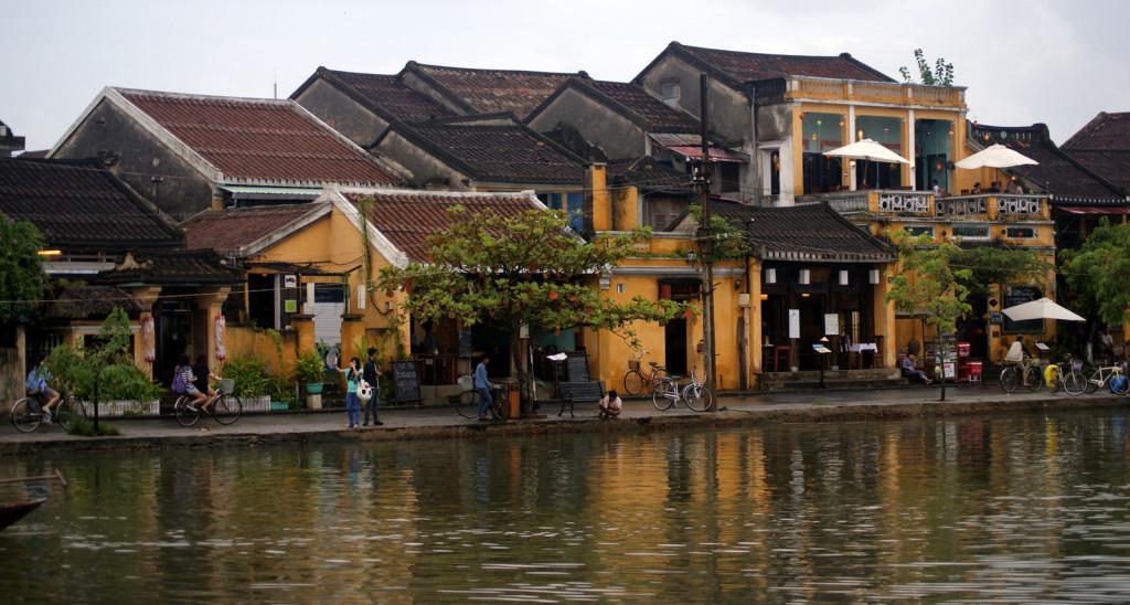 Hoi An - widok z rzeki