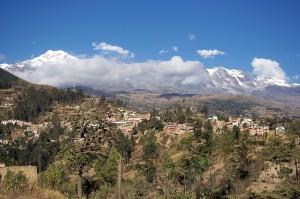 Widok na miasteczko Sorata