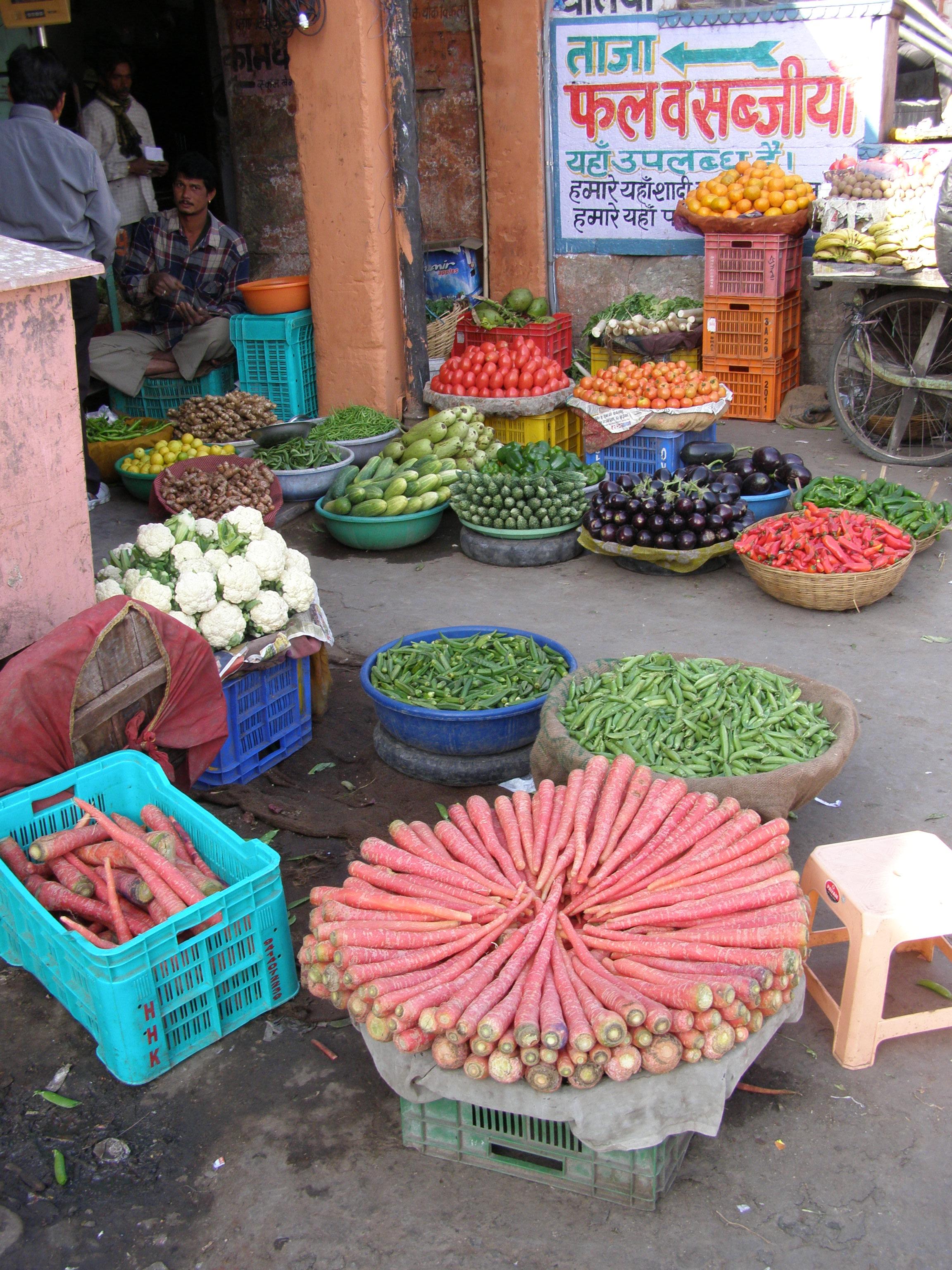 Warzywniak w Jaipurze