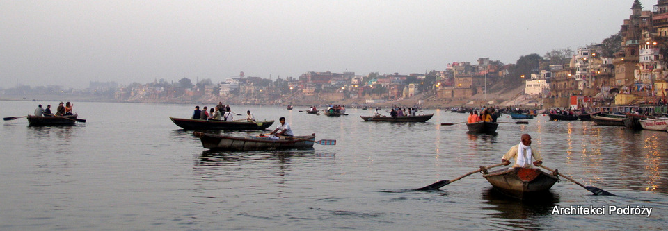 Wyjazd do Indii - Varanasi - Ganges
