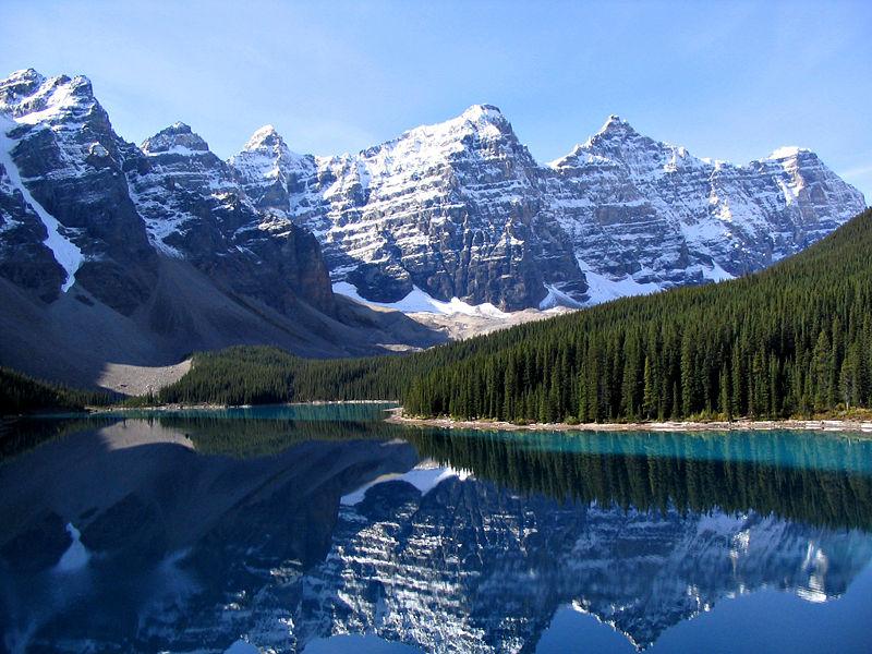 Wyjazd do Kanady - jezioro Moraine