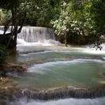 Luang Prabang - wodospad Kuang Si