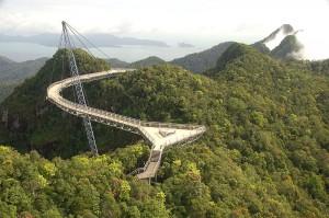 Wyjazd do Malezji - Langkawi Sky bridge