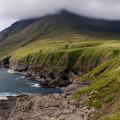 Wyspy Owcze - klify