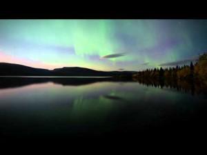 Zorza Polarna w Rosji - Murmańsk