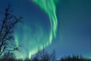 Zorza Polarna w Szwecji