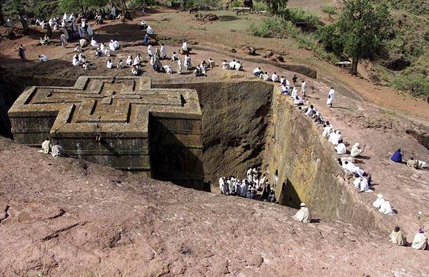 """Zwiedzanie Etiopii – Lalibela – """"Nowa Jerozolima"""""""