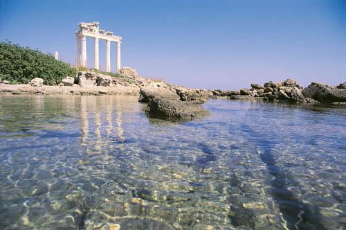 Side - ruiny świątyni Apolla