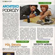 """Architekci Podróży w """"Poznaj Świat""""!"""