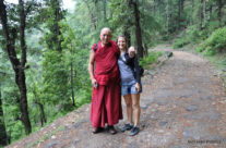 Dharamsala – tybetański mnich