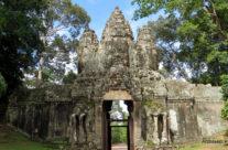 Kambodża – Angkor Thom, brama