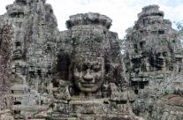 Kambodża – Bayonn], zbliżenie