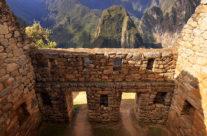 Machu Picchu w Peru – część mieszkalna
