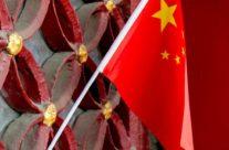 Pekin – Zakazane Miasto – flaga Chin