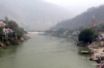 Rishikesh – most nad Gangesem