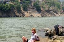 Rishikesz – kąpiel w Gangesie