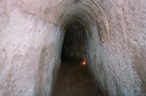 Wietnam tunele Cu Chi – wnętrze