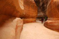 Zwiedzanie Jordanii – Petra -Siq