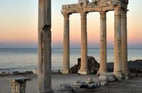 Zwiedzanie Turcji – Side – świątynia Apolla