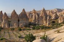 Zwiedzanie Turcji – kominy Kapadocji