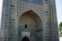 Zwiedzanie Uzbekistanu – Samarkanda – meczet  Bibi Khanym