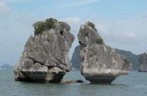 Zwiedzanie Wietnamu – zatoka Halong