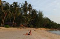 wyjazd do Tajlandii- zachód słońca nad Ko Phangan