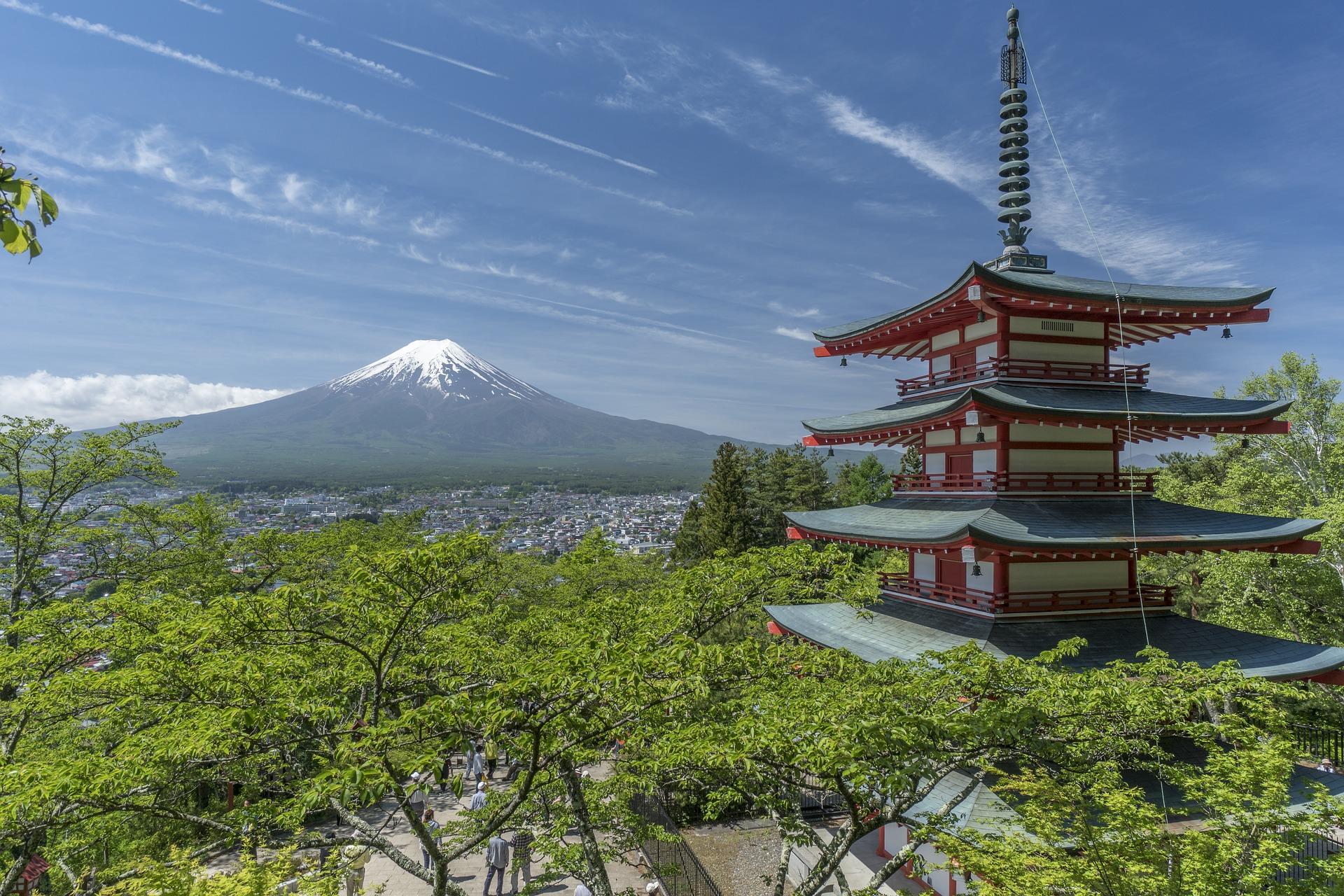Wyjazd do Japonii Fuji