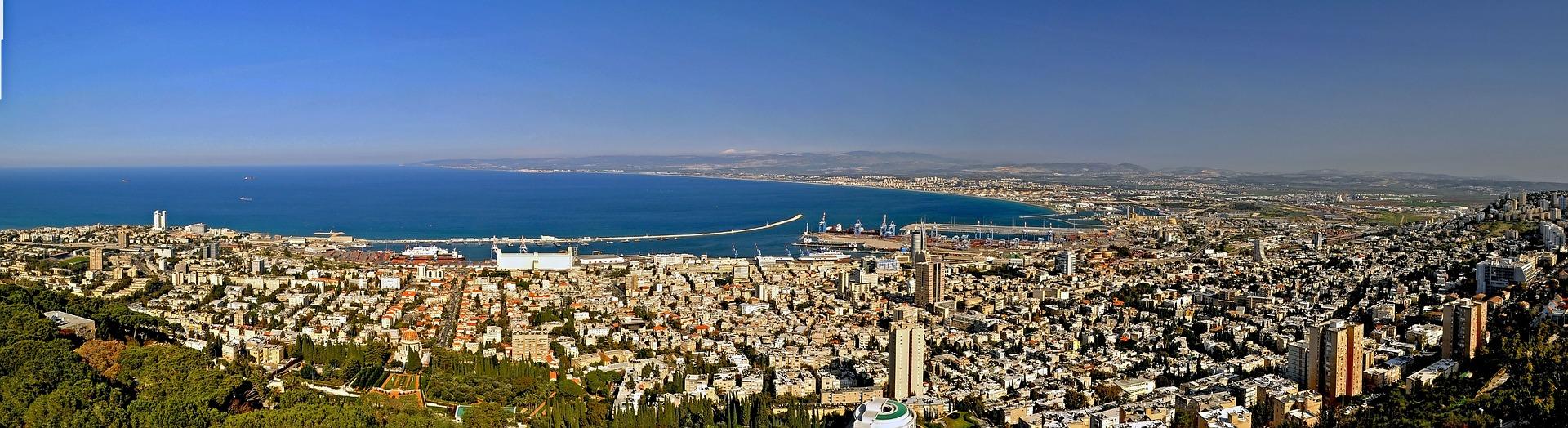Hajfa - widok na miasto