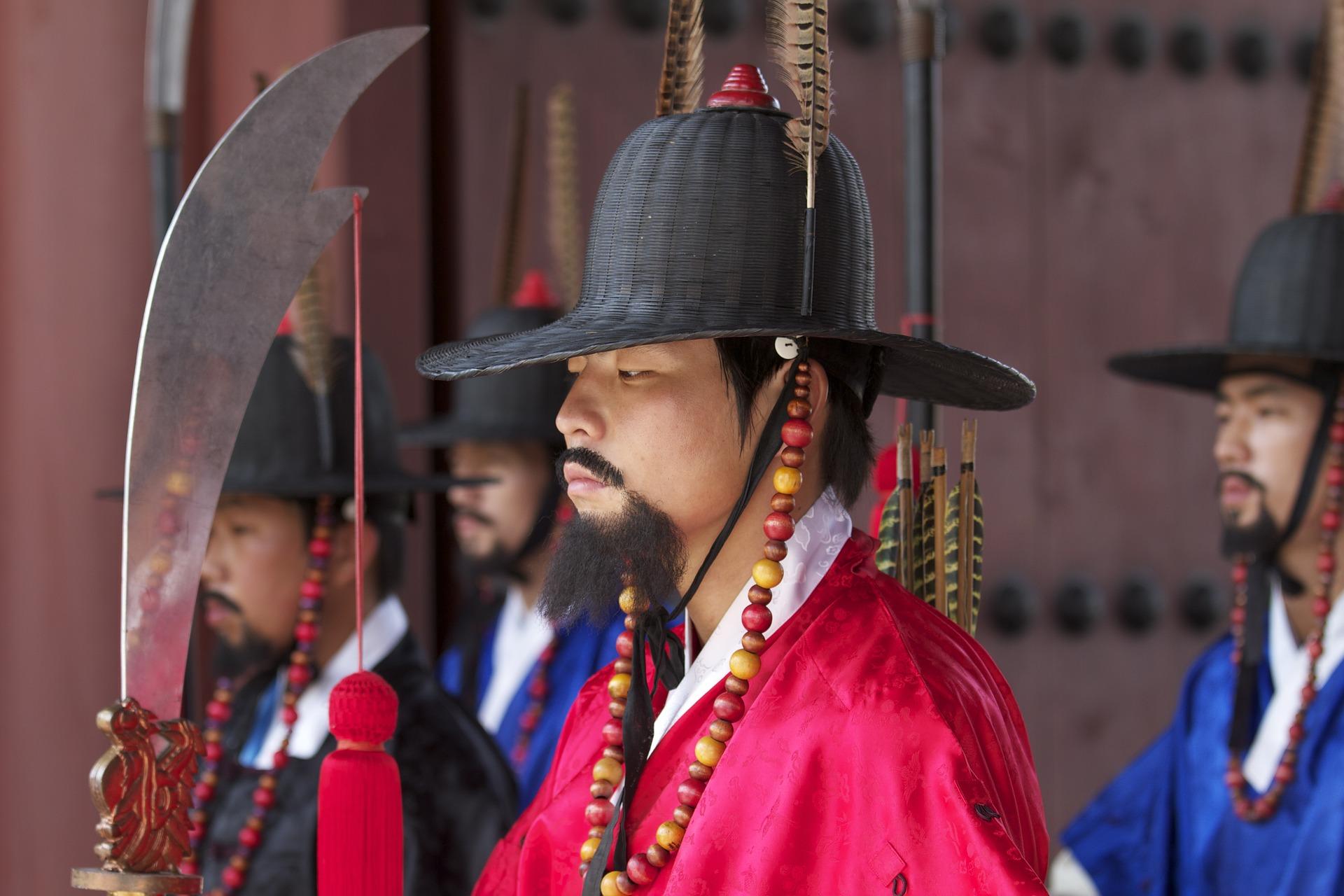 Korea - warta pałacowa