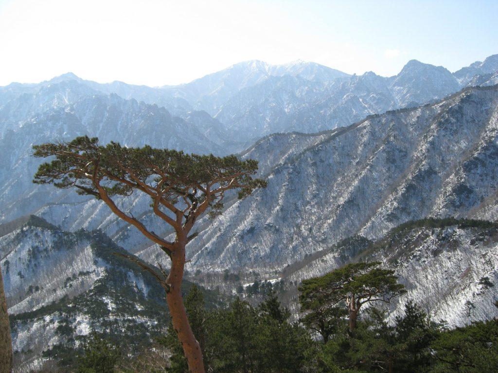 Korea Południowa, park Seoraksan