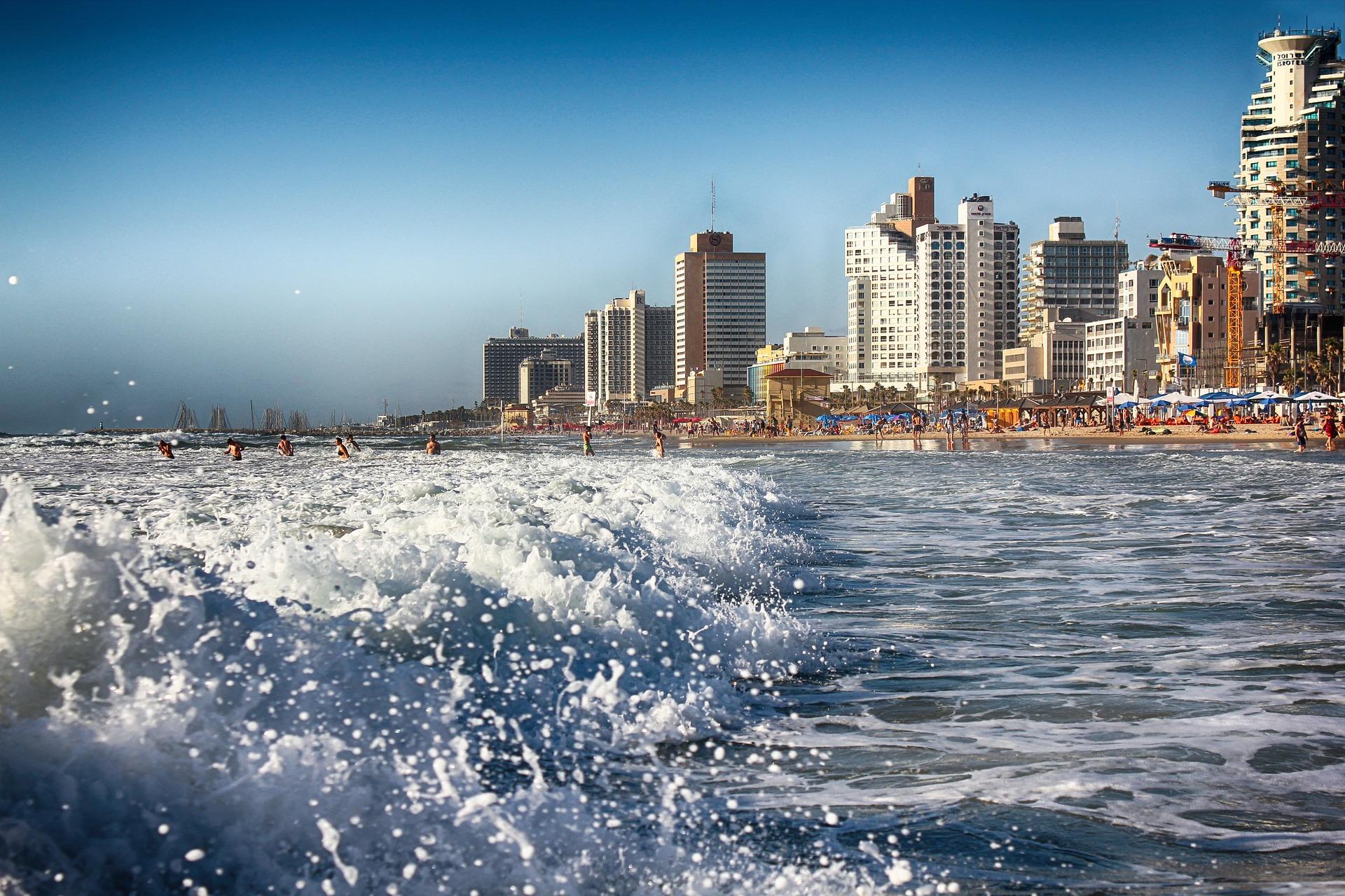 Tel Awiw - nabrzeże