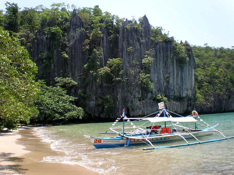 Palawan - ujście podwodnej rzeki