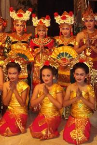 Balijskie tancerki